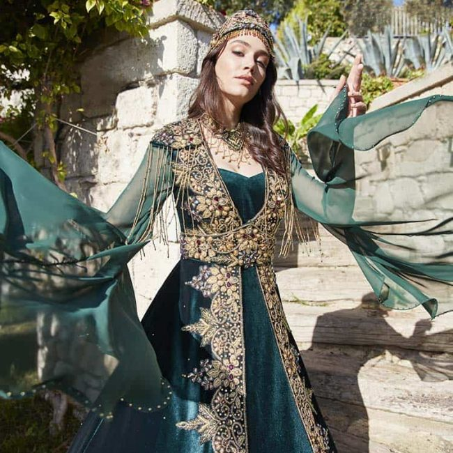Ottoman princess dress