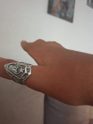 Turkish Adjustable Archery Thumb Ring photo review
