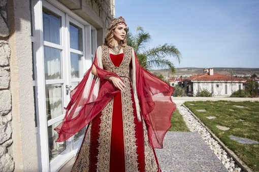 buy turkish traditional bridal long kaftan abaya maxi dress ottoman clothing
