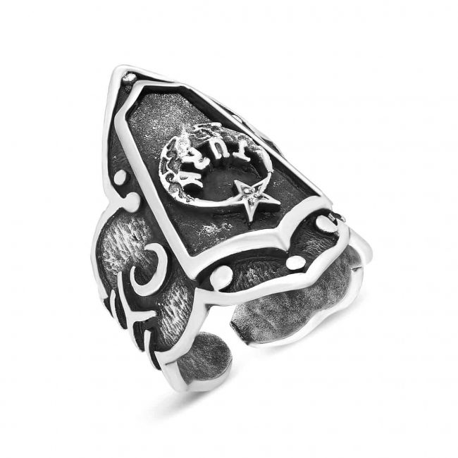 stainless steel rings of archery
