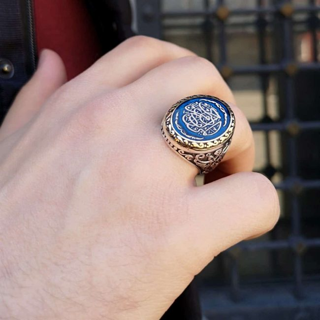 mens rings silver