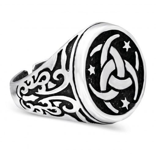 mens stainless steel rings