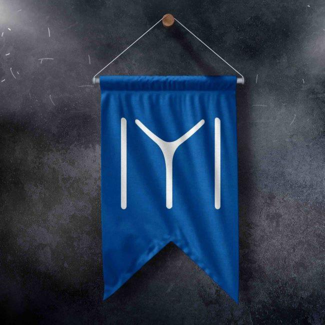 kayı tribe flag