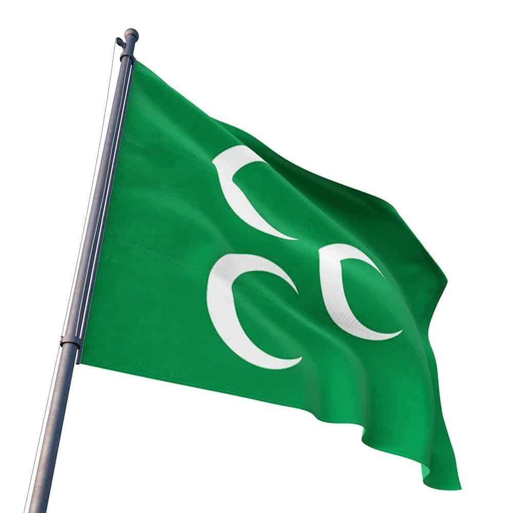 Buy Ottoman Caliphate Flag 100x150 cm | Turkeyfamousfor