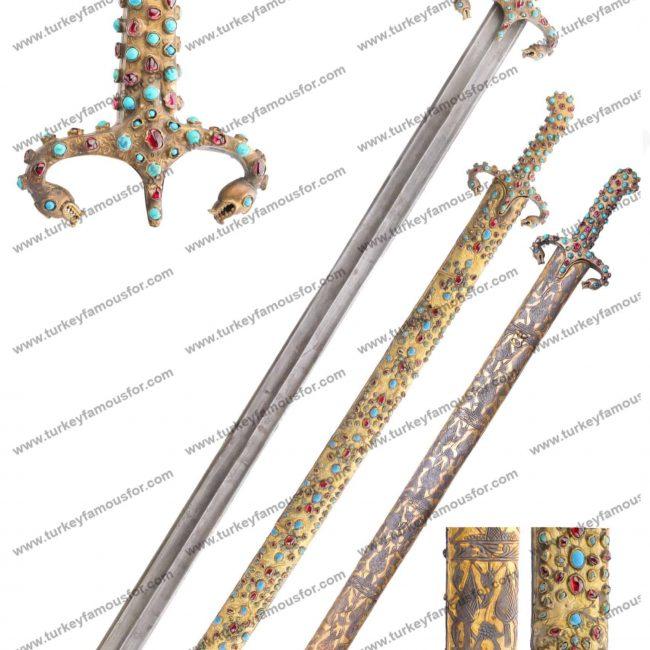 museum replica sword prophet muhammad