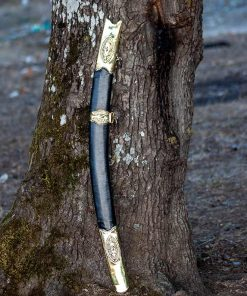 Resurrection Ertugrul Sword Leather Scabbard 1 247x296 - Bamsi Alp Sword