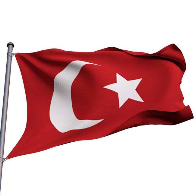 turkish flag order
