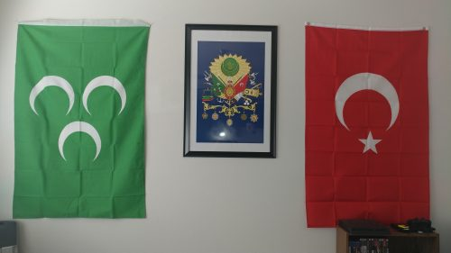 Ottoman Caliphate Flag 100x150 cm photo review