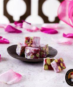 rose lokum turkish delight