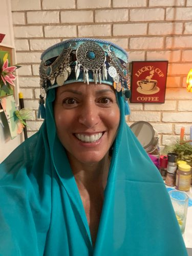 Halime Sultan Head Dress photo review