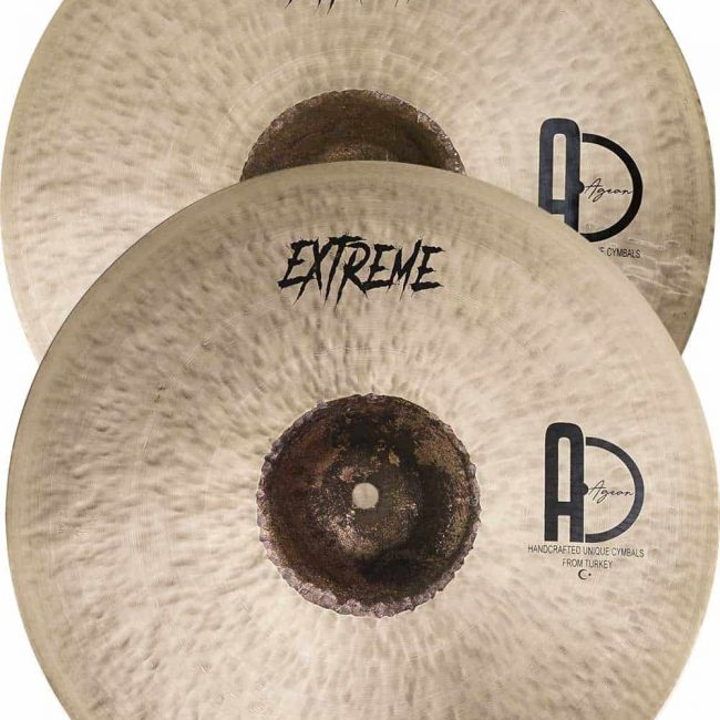 Best Turkish Cymbal Pack Extreme Set 4 650x650 - Drum Set Cymbals Extreme