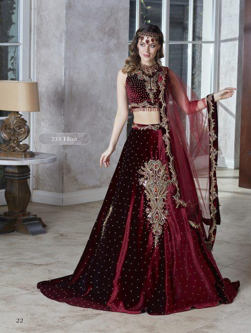 Fashion Trendy Turkish Wedding Party Crop Top Maxi Skirt Kaftan Dresses