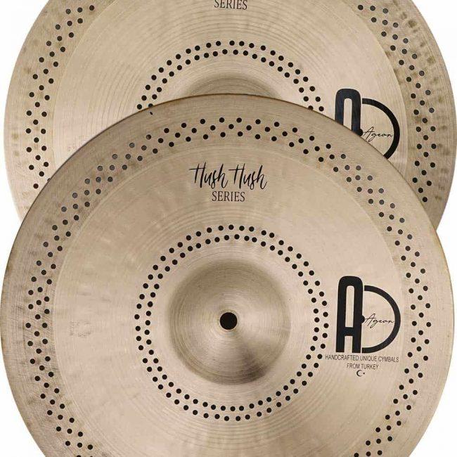 Drum Cymbals Pack Hush Hush Hi hat 650x650 - Drum Set Cymbals Hush Hush