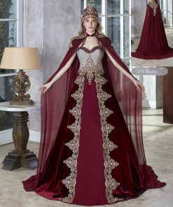 Sparkly Ball Gown burgundy Sequins Long Prom Dresses Unique Evening party Dresses
