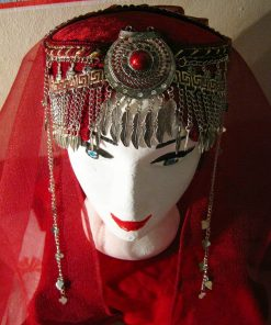 Ertugrul Head Dress Turkish Woman Head Dress Red 3 247x296 - Home