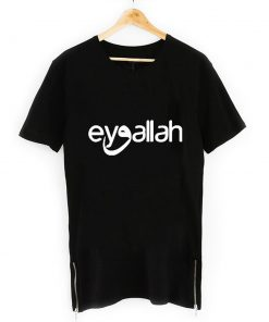 EyvAllah Neck Short Sleeve Zipper T Shirt Black 247x296 - Home