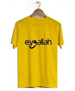Eyvallah Kayi Tribe Crew Neck Short Sleeve T Shirt Yellow 247x296 - Home