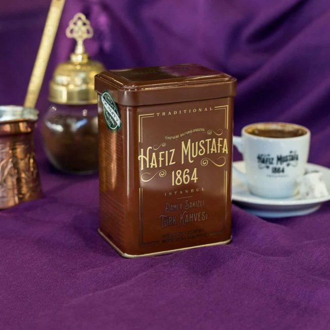 turkish coffee with mastic gum