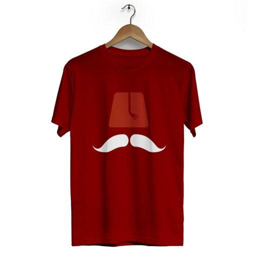 Ottoman Fez Crew Neck Short Sleeve T Shirt Black Red 510x510 - Ottoman Fez Neck Short Sleeve T-Shirt