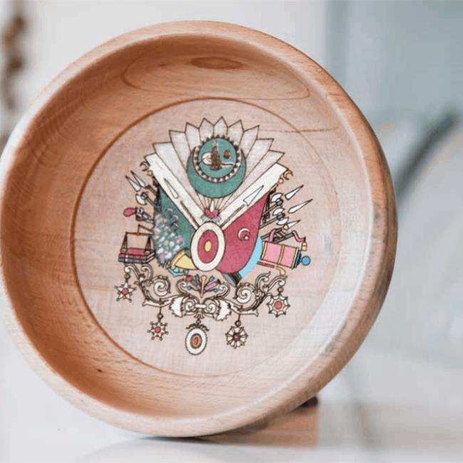 buy Ottoman Tugra Turkish Hammam Bowl Natural