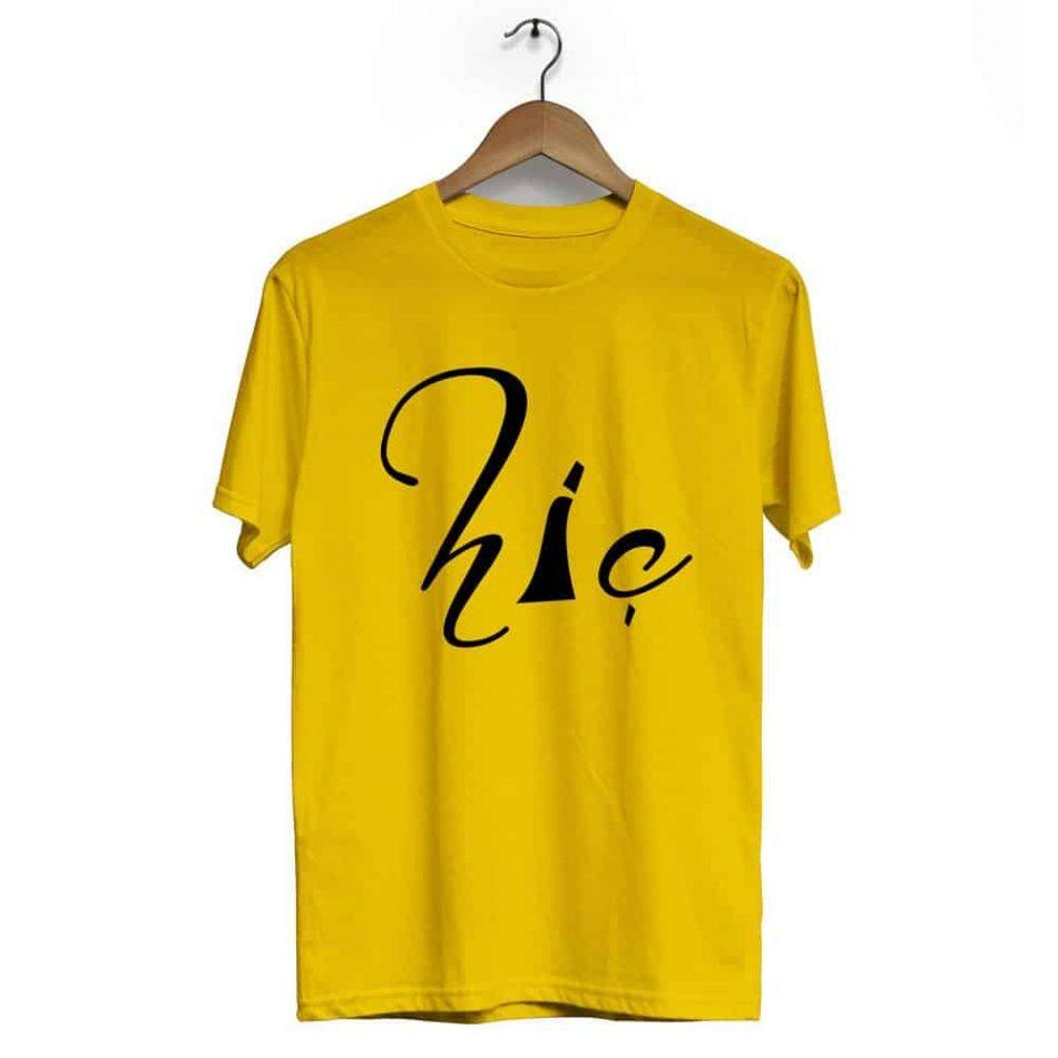 Rumi Crew Neck Short Sleeve T Shirt Black Yellow 950x950 - Rumi Crew Neck Short Sleeve T-Shirt