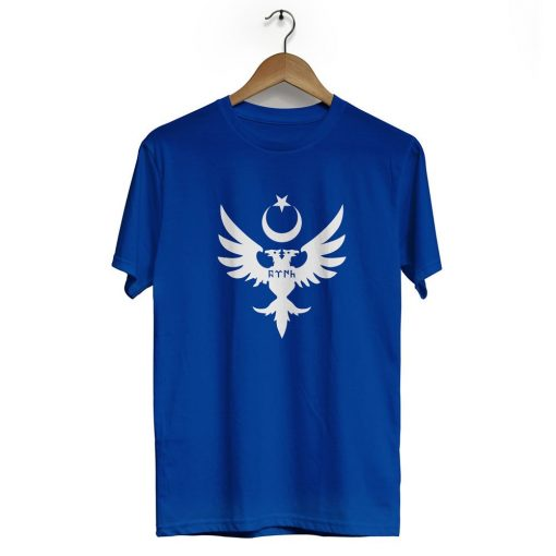 Seljuks Kayi Tribe Crew Neck Short Sleeve T Shirt Navy Blue 510x510 - Seljuk Neck Short Sleeve T-Shirt