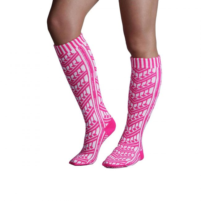 Traditional Turkish Pink Socks For Women 1 650x650 - Traditional Turkish Pink Socks For Women
