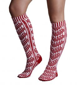 Traditional Turkish Red Socks For Women 2 247x296 - Traditional Turkish Red Socks For Women