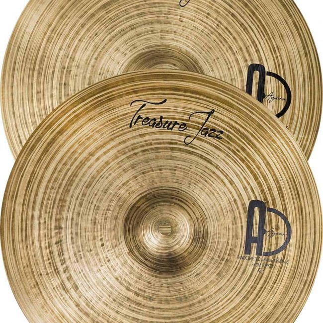 Treasure Jazz cymbals Hi hat 650x650 - Best Cymbal Packs Treasure Set