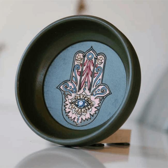 Buy Turkish Hammam Bowl Green