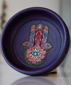 buy Turkish Hammam Bowl Green Purple
