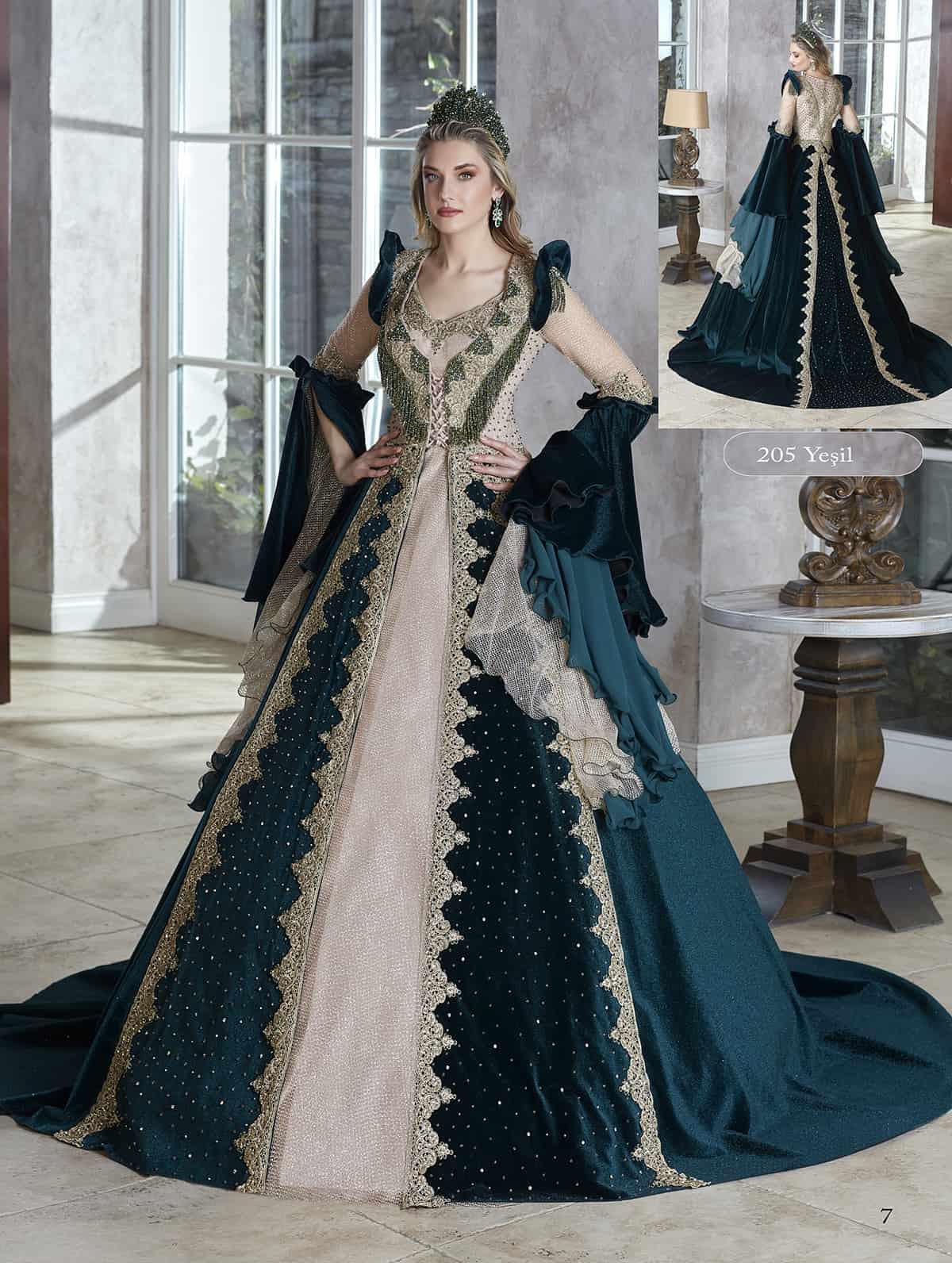 Buy Dark Green Marie Antoinette Masquerade Ball Gown Dress