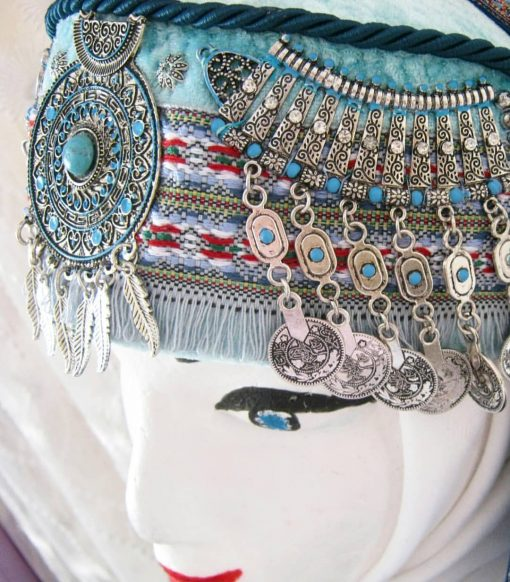 halime hatun headdress 2 510x582 - Halime Sultan Head Dress