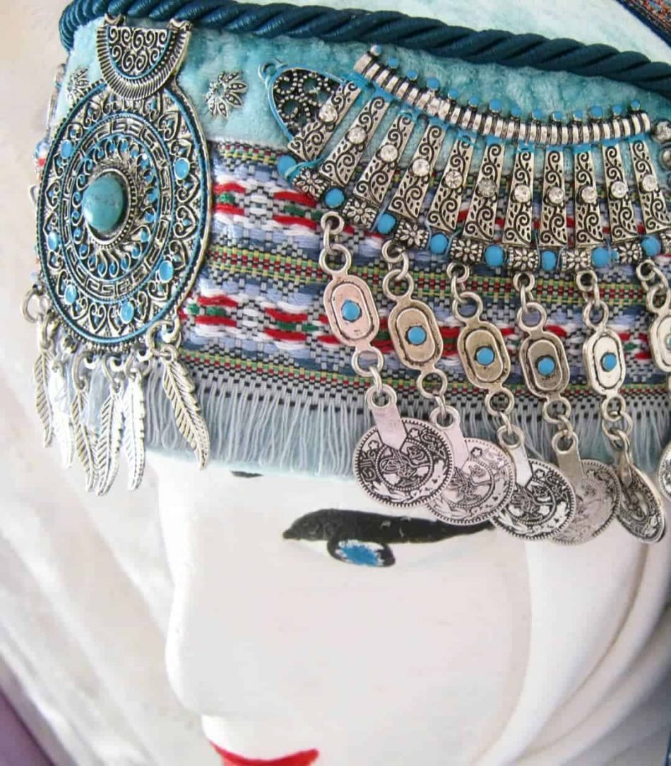 halime hatun headdress 2 950x1084 - Halime Sultan Head Dress