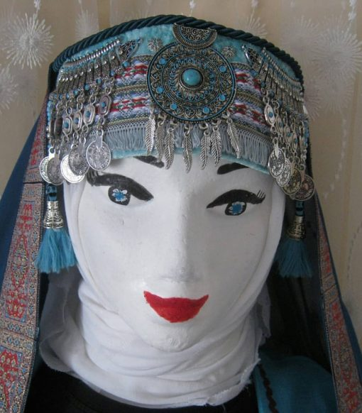 halime hatun headdress 4 510x582 - Halime Sultan Head Dress
