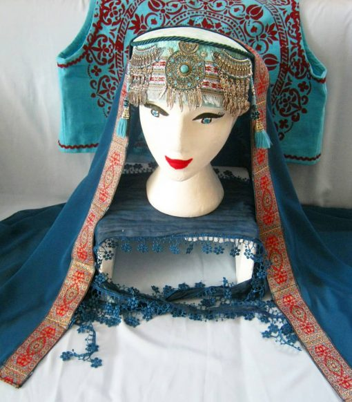 halime hatun headdress 5 510x582 - Halime Sultan Head Dress