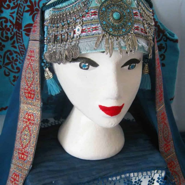 halime sultan headpiece