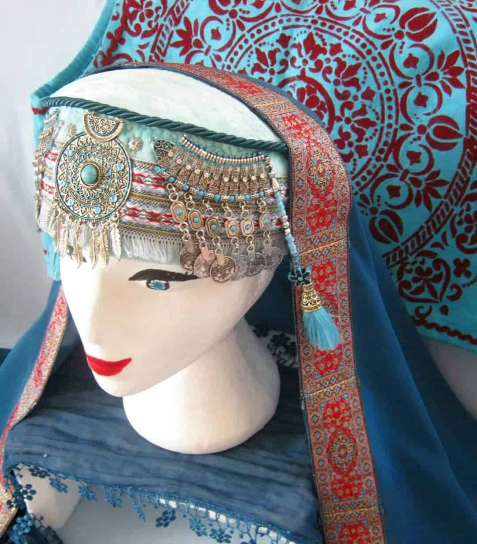 halime hatun headdress 7 950x1084 - Halime Sultan Head Dress