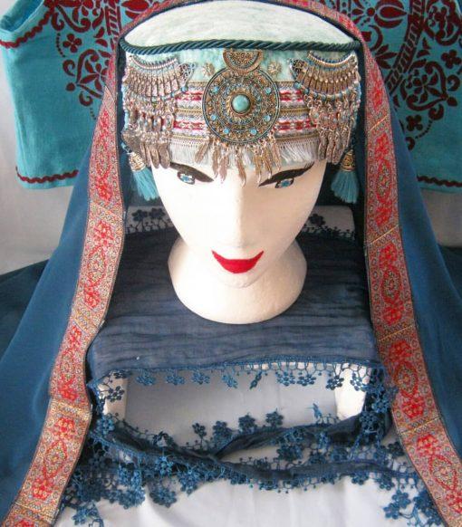 halime hatun headdress 8 510x582 - Halime Sultan Head Dress