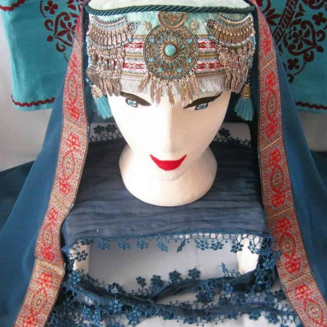 halime hatun headdress 8 650x650 - Halime Sultan Head Dress