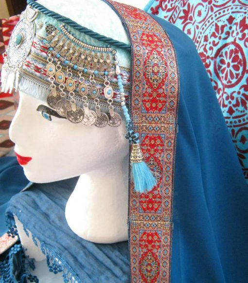 halime hatun headdress 9 510x582 - Halime Sultan Head Dress