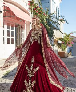 unique elegant long traditional prom party gown kaftan clothing