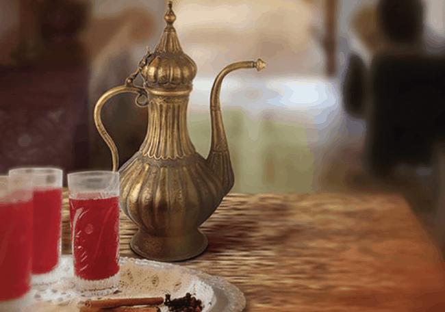 sherbet - Selamlique Rose Turkish Coffee