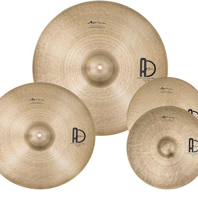 jazz cymbal set