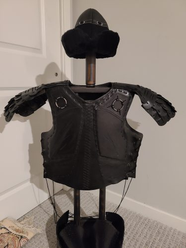 Handmade Leather Medieval Full Armor Set photo review