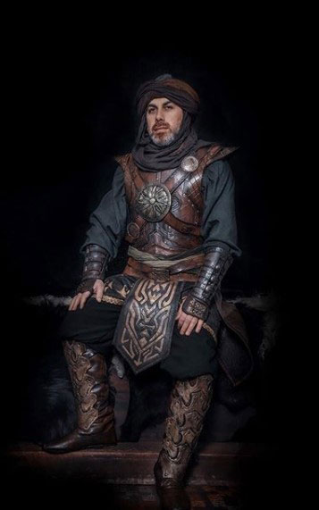 Resurrection ertugrul official cloth leather armor designer set