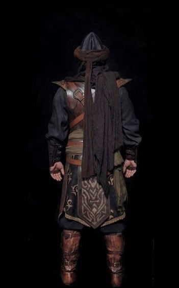 Ertugrul series alp costume cloth warrior leather armor set