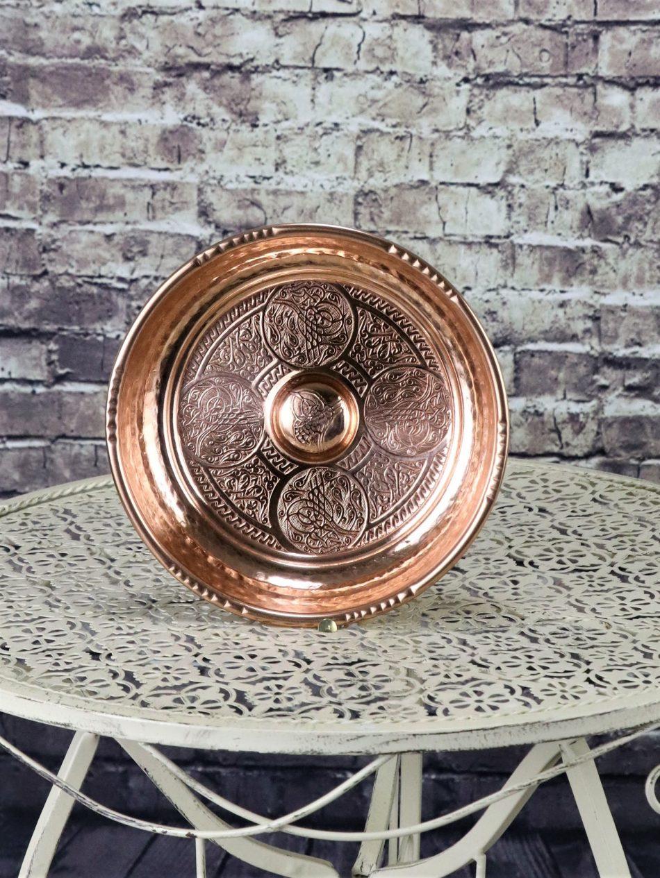 Buy Turkish Hammam Bowl 1 950x1265 - Copper Engraved Hammam Bowl 18 cm
