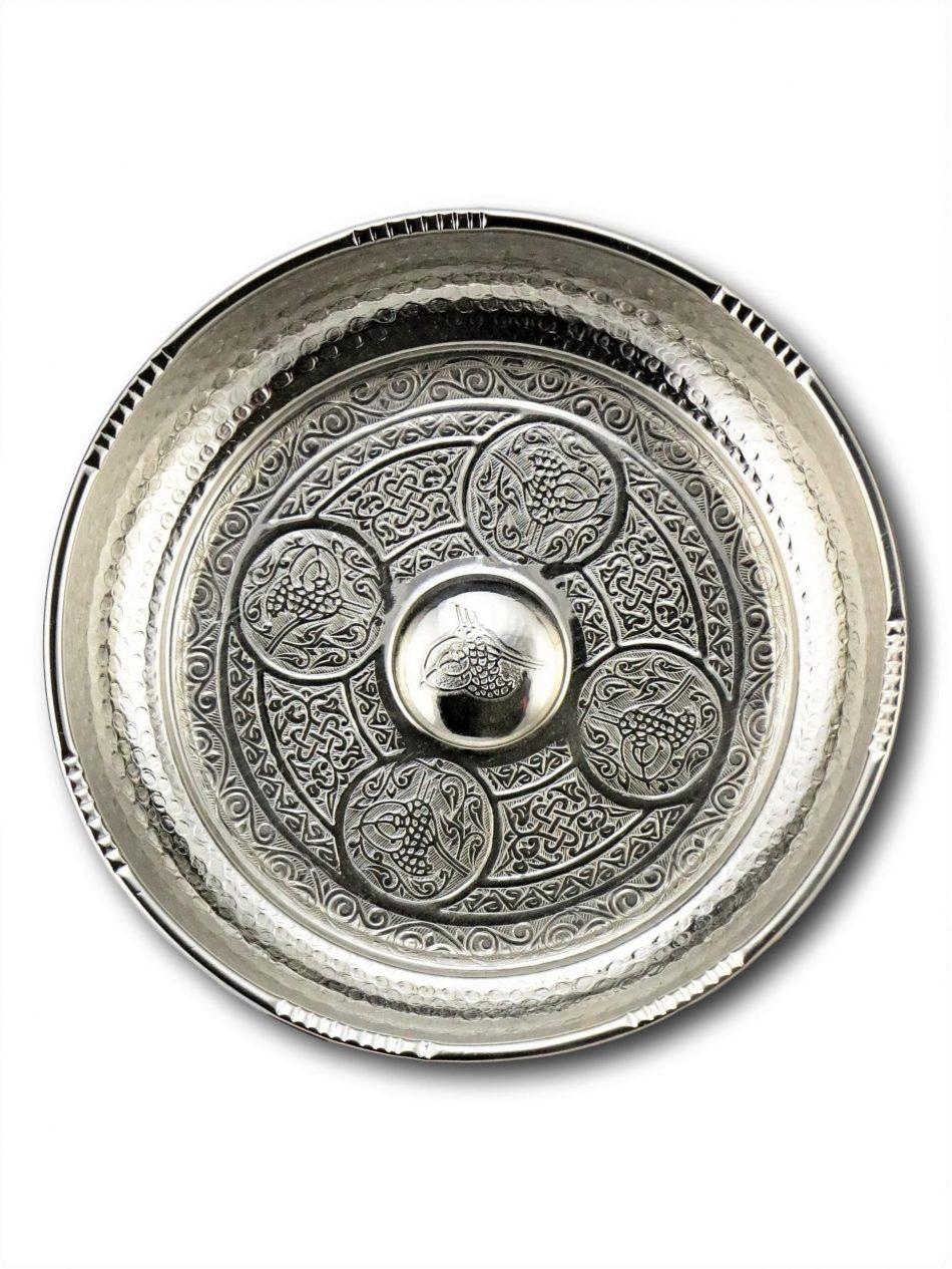 Buy Turkish Hammam Bowl 1 scaled 950x1265 - Copper Engraved Hammam Bowl 18 cm
