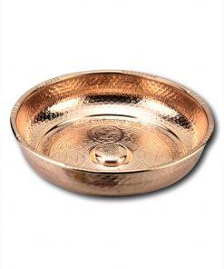 Buy Turkish Hammam Bowl 3 247x296 - Copper Engraved Hammam Bowl 18 cm